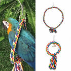 Pet Bird Parrot Swing Cage Toy Chew Bites Rope For Parakeet Cockatiel Cockatoo
