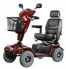 Roma Medical Shoprider Granada Mobility Scooter - 8mph - Red - Brand New