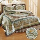 Bird Print Quilt Cotton Front Polly-fill Bed Lightweight Full Queen King Birds