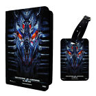 Transformers Poster Printed Luggage Tag & Passport Holder - T2806