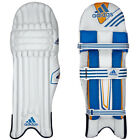 adidas Club Kids Junior Cricket Batting Pads Leg Guards White/Blue