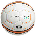 Precision Cordino Lite Match Football 320g - White/Fluo Orange/Black