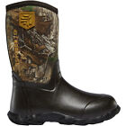 LaCrosse 610245 Lil' Alpha Lite Realtree Waterproof Insulated Camo Hunting Boots