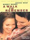 A WALK TO REMEMBER MANDY MOORE FAMILY DVD MOVIE PG