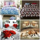 New Duvet Doona Quilt Cover Bed Set Single Double Queen King Size Pillowcases