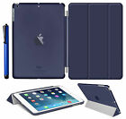Smart Stand Slim Leather Magnetic Case Cover For Apple iPad 4 3 2 mini Air 2 Pro