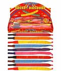 Rocket Balloons Party Novelty Noise Making Balloons Childrens Goody Bags Toys