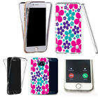360° Silicone gel full body case cover for most mobiles -design ref zq027 clear