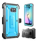 New SUPCASE For Galaxy S6/S6 Edge Unicorn Beetle Full Body Rugged Holster Case