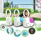 Air Purifier Humidifier Aromatherapy Bladeless Fan AirFlow Cooling Fan Portable