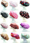 Ladies - Womens Quality Lined Water Proof Shower Caps- Bath Cap -Various Styles
