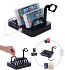 6 in 1 USB Charging Station Dock Desktop Stand Charger Holder For Phone/Watch