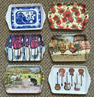 Melamine Tea or Sandwich tray  8 new different patterns including  Red poppy