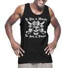 To Err is Human To Arr is Pirate - Costume Too Lazy Ship Tank T-Shirt