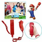 Built in Motion Plus Remote Controller + Nunchuck + Slicon Case for Nintend Wii