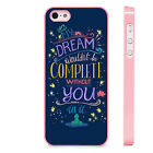Disney Quote Princess And The Frog Dreams PHONE CASE COVER fits iPHONE 4 5 6 7+