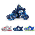 Durable Toddler Kids Shoes Baby Boys Closed Toe Summer Beach Sandals Size 23-36