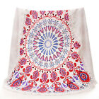 150x150cm Microfiber Round Beach Bath Towel Swimming Plage Sunbath Cotton Towels