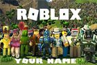 PERSONALISED ROBLOX JIGSAW PUZZLE A4 + Box.