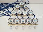 Blue Pacifier Necklaces Baby Shower Little Prince Game Fa...