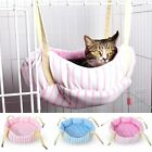New Soft Stripe Pet Cat Hammock Bed House Sofa Hanging bed Mat Cushion S