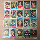 Topps FOOTBALLERS (1977, Red Backs) Your Choice of Cards
