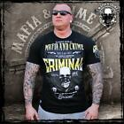 Mafia and Crime MC Shirt CRIMINAL Schwarz