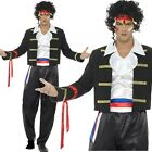 Mens 1980's New Romantic Adam Ant Prince Charming dressing up Costume outfit