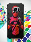 New Hot Deadpool Love Marvel For Samsung Galaxy S6 S6 edge S7 S7 edge Case Cover