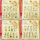 Color Printing Water Tranfer Nail Art Stickers Japan Lady Painting Style 6-2932