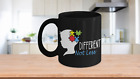 Different Not Less Autism Mom Gifts Coffee Mug