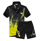 Butterfly Professional Table tennis T-shirt and Shorts  Sports Suit Quick Dry