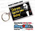 The Godfather Movie Quote Keyring - Brando Pacino - Gangsters / Fathers Day Gift