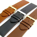 Comfortable Flexible Leather Watch Band Buffalo grain 24mm - 30mm image