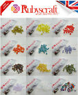 25pcs Swarovski Crystal AB Colour Elements Beads 5301 Bicone 4mm -Choose colour