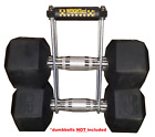Genuine WEIGHTaxi Dumbbell Carrier • Weight Holder • Adjustable Kettle Bell