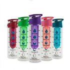 The Increment Bottle Motivational Water Bottle Flip Cap Infuser Weight Loss Aid image