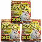 Ultra Absorbent PUPPY TRAINING PADS Indicator House Toilet Soak Up Nappy Pet