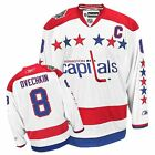 8 Alex Ovechkin Washington CAPITALS RBK NHL Premier Winter Classic Jersey