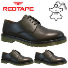 MENS RED TAPE LEATHER LACE UP WORK CASUAL OFFICE SMART FORMAL OXFORD SHOES SIZE