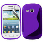 Protective Cover for Samsung Galaxy Young S6310 Duos Silicone Flip Case