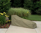 Waterproof Outdoor Chaise Patio Furniture Oversized Lounge Cover Protection