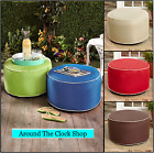 INDOOR OUTDOOR INFLATABLE POUFS OTTOMAN SEATING TABLETOP ...