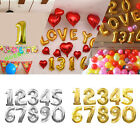 """40"""" inch Large Foil Letter Number Balloons Birthday Wedding Party Decoration"""