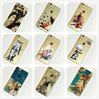 Gintama Anime Manga iPhone 4s 5c 5s SE 6s 7 Plus Case Silicone TPU Free Shipping