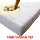 LUXURIOUS MEMORY FOAM TOPPERS WITH  COOL MAX, ALOE VERA OR TENCIL ZIP COVERS