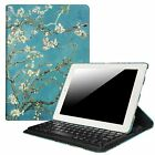 Fintie iPad 2 3 4 Case 360 Degree Rotating Stand Cover with Built-in Keyboard