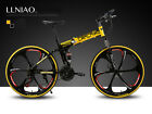 2017 New Full Suspenion Man Mountain Bike 21 Speed Folding Mountain Bicycle