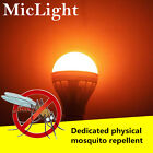 LED Bulb 7/9/12W Anti-Mosquito Insect Zapper Flying Moths Killer Light lamp US