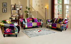 Brand New Anna Shout Luxury Patchwork Sofa Suites - 3 , 2 , 1 Variations
